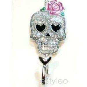 Betsey Johnson Purse  Accessory Hook Skull